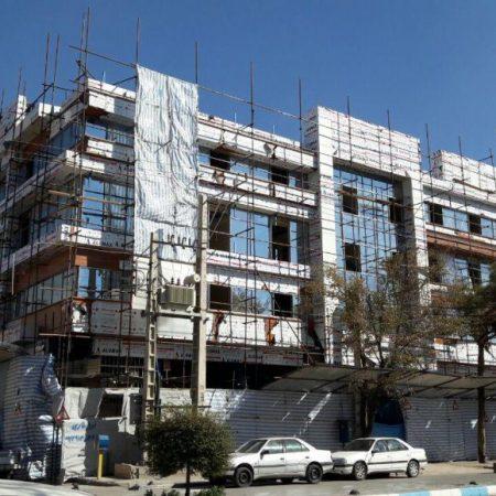 پروژه ساختمان پزشکان شفا